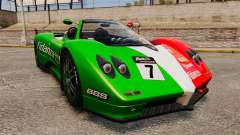 Pagani Zonda C12 S Roadster 2001 PJ6 for GTA 4