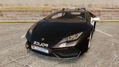 Lamborghini Huracan Cop [Non-ELS] for GTA 4