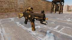The submachine gun UMP45 Fall Camos
