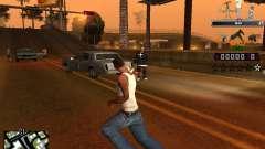 C-HUD Prostokvashino for GTA San Andreas