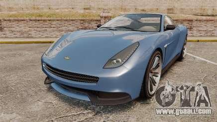 GTA V Dewbauchee Massacro for GTA 4