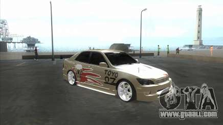 Lexus IS300 Tuneable for GTA San Andreas