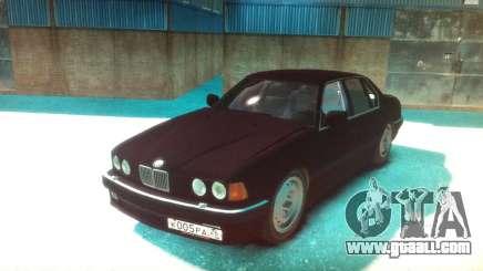 BMW 735iL E32 ver 2 for GTA 4
