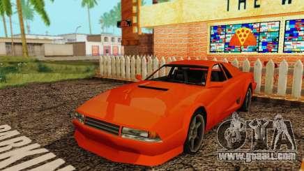 New Cheetah v1.0 for GTA San Andreas