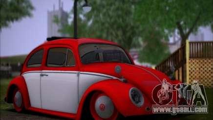 Volkswagen Beetle Stance for GTA San Andreas