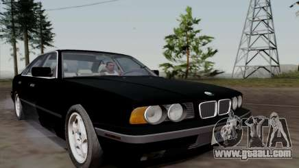BMW 540i (E34) for GTA San Andreas