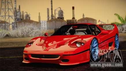 Ferrari F50 1995 for GTA San Andreas