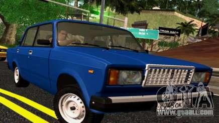 VAZ-2107 Riva for GTA San Andreas