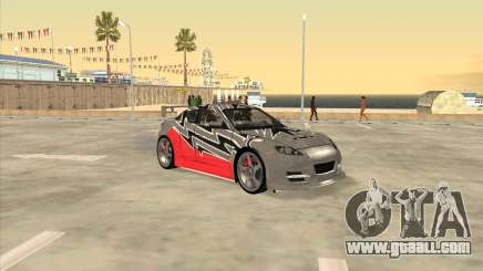 Mazda RX 8 из NFS Most Wanted for GTA San Andreas