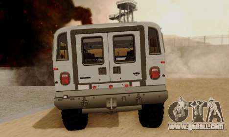 Hummer H1 Alpha for GTA San Andreas back left view