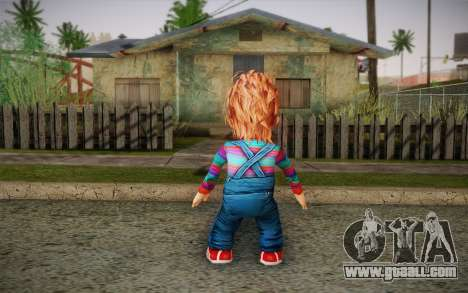 Chucky for GTA San Andreas second screenshot