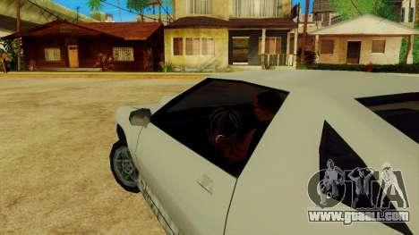 Rotating the wheel for standard cars for GTA San Andreas fifth screenshot