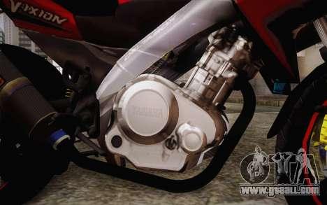 Yamaha V-Ixion 2014 for GTA San Andreas right view