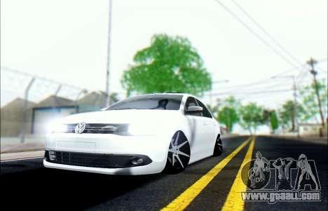 Volkswagen Jetta 1.4 МТ Comfortline for GTA San Andreas back view