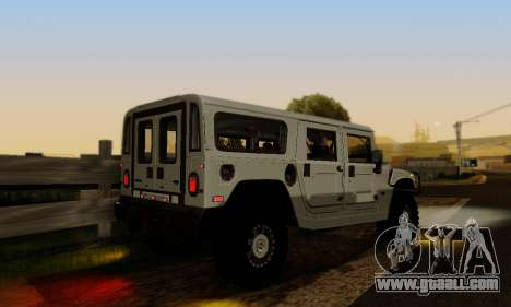 Hummer H1 Alpha for GTA San Andreas side view