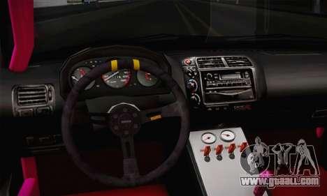 Honda Civic EK9 2000 Hellflush for GTA San Andreas right view