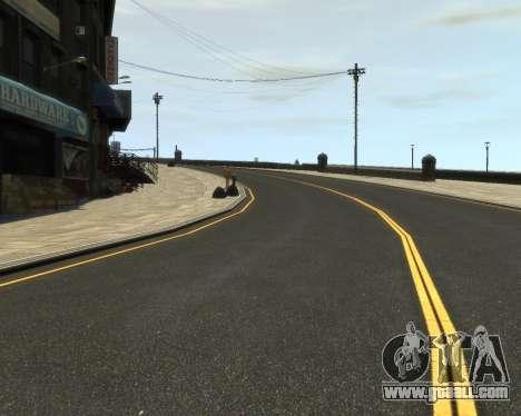 New Roads  (Textures - HD) for GTA 4 third screenshot