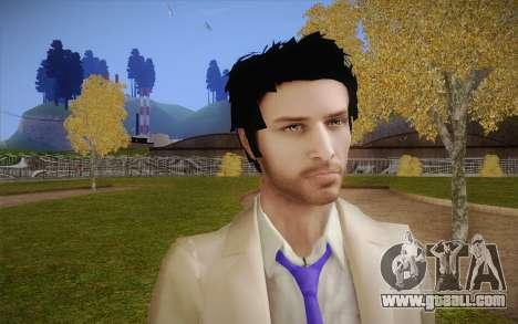 Castiel from Supernatural for GTA San Andreas third screenshot