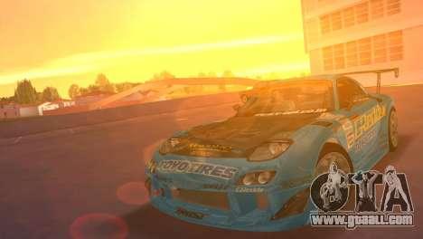 Mazda RX7 FD3S RE Amamiya G-Reddy for GTA Vice City