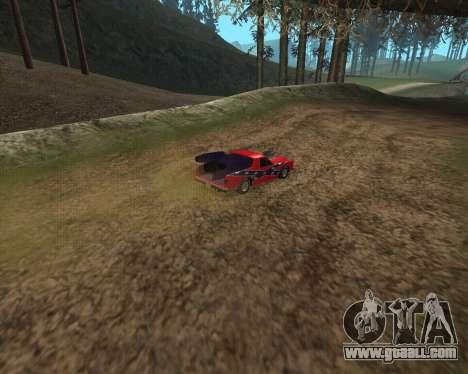 Rocket Picador GT for GTA San Andreas back left view