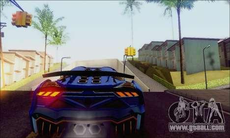Zentorno GTA 5 V.1 for GTA San Andreas right view