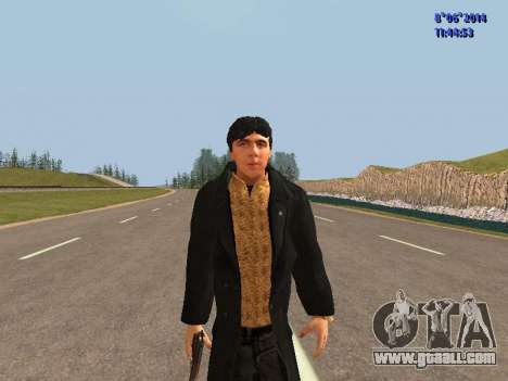 Danila from the movie Brother for GTA San Andreas
