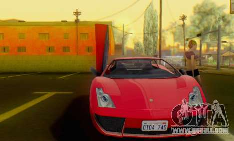 Pegassi Vacca for GTA San Andreas left view