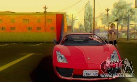 Pegassi Vacca for GTA San Andreas left view