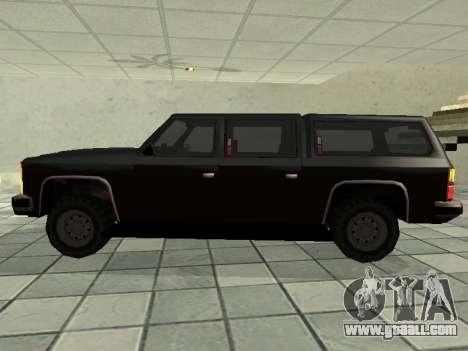 SWAT Original Cruiser for GTA San Andreas left view