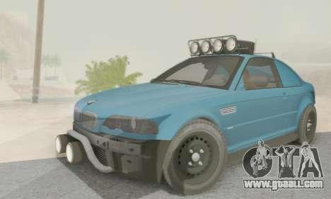 BMW M3 E46 Offroad Version for GTA San Andreas