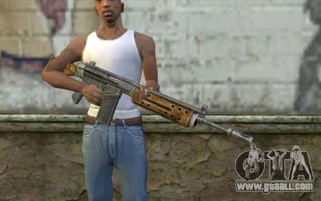 R91 Assault Rifle for GTA San Andreas third screenshot