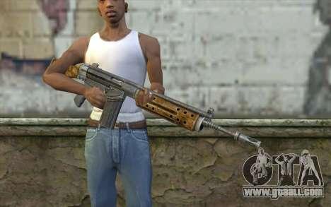 R91 Assault Rifle for GTA San Andreas third screenshot