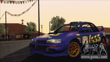 Subaru Impreza 22B STi 1998 for GTA San Andreas engine