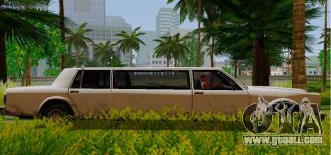 Greenwood Limousine for GTA San Andreas left view