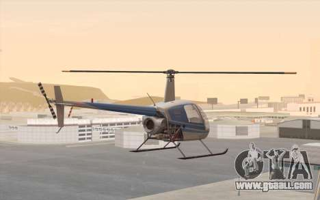 Robinson R22 for GTA San Andreas left view