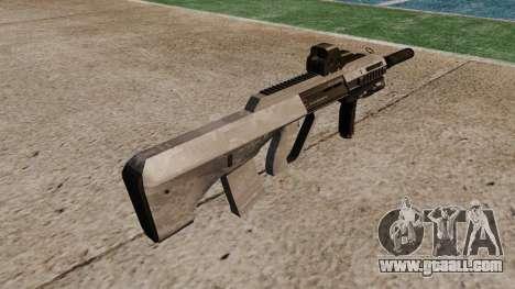 Автомат Steyr AUG-A3 Optic ACU Camo for GTA 4 second screenshot