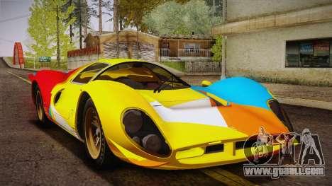 Ferrari 330 P4 1967 IVF for GTA San Andreas