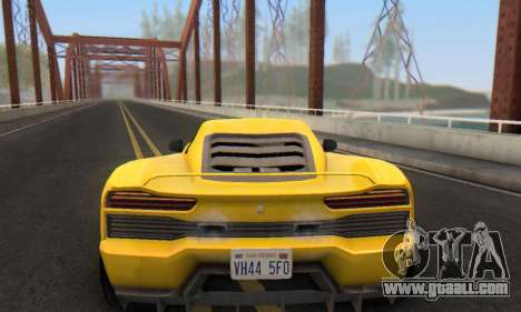 Pegassi Vacca for GTA San Andreas interior