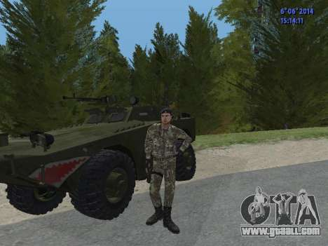 USSR Special Forces for GTA San Andreas sixth screenshot