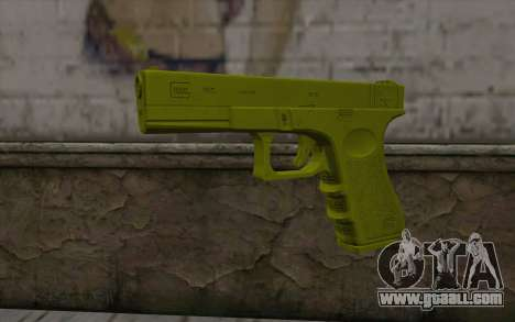 Golden Glock 18C for GTA San Andreas