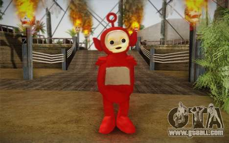 On of the Teletubbies for GTA San Andreas