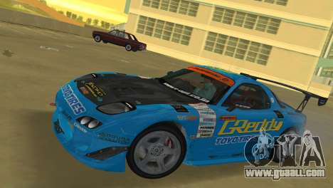 Mazda RX7 FD3S RE Amamiya G-Reddy for GTA Vice City left view
