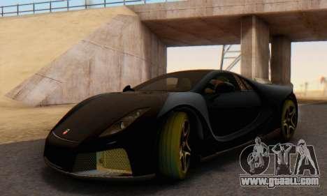 GTA Spano 2014 IVF for GTA San Andreas