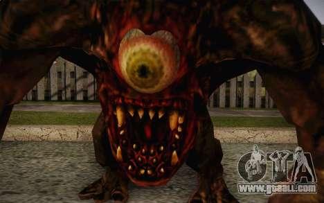 Gnaar from SS 3 BFE for GTA San Andreas third screenshot