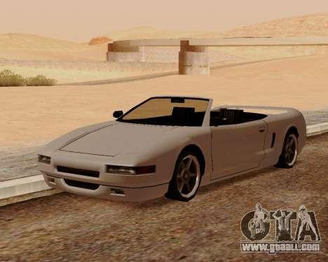 Infernus Convertible for GTA San Andreas