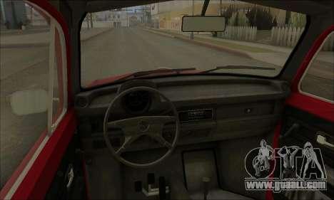 1973 Volkswagen Beetle for GTA San Andreas side view