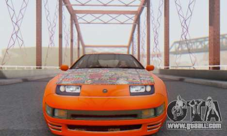 Nissan 300ZX Fairlady for GTA San Andreas left view