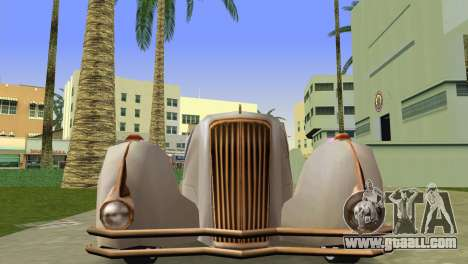 Cadillac Series 37-90 1937 V16 Cabriolet for GTA Vice City right view