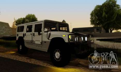 Hummer H1 Alpha for GTA San Andreas inner view