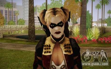 Harley Quinn for GTA San Andreas third screenshot